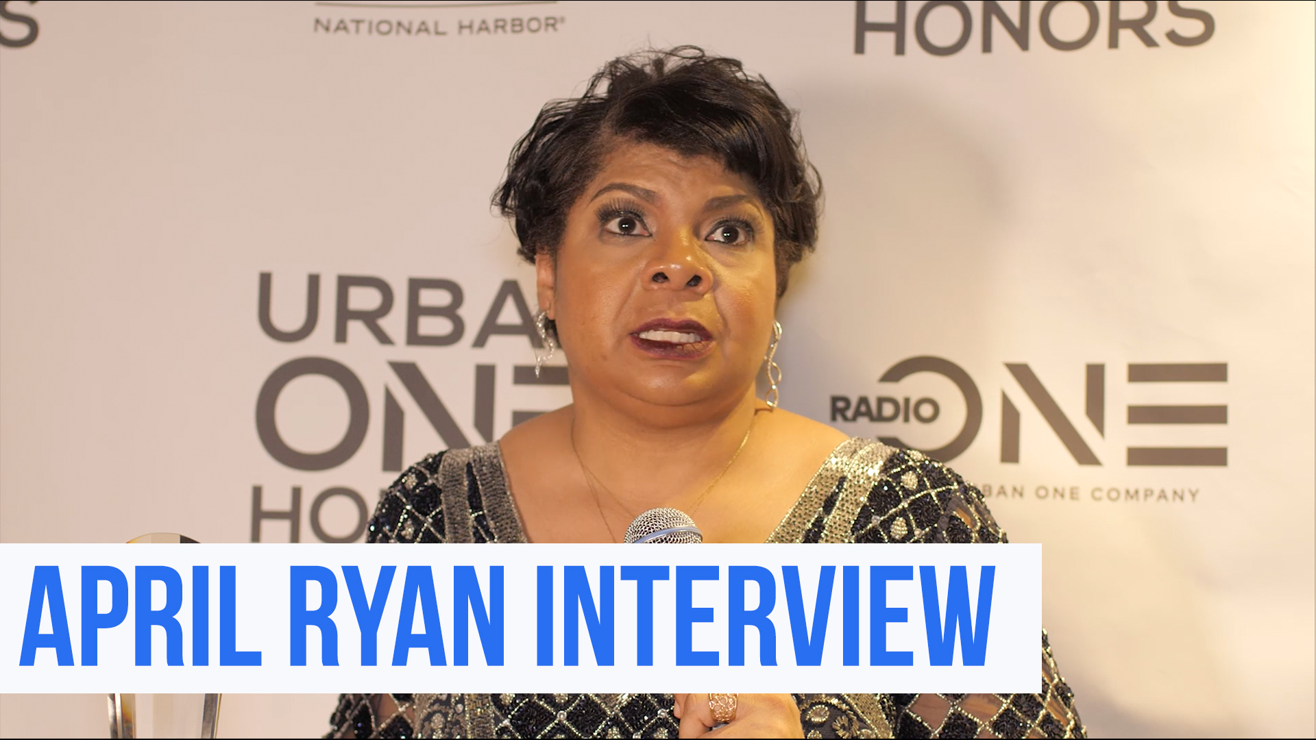 Urban One Honors: April Ryan