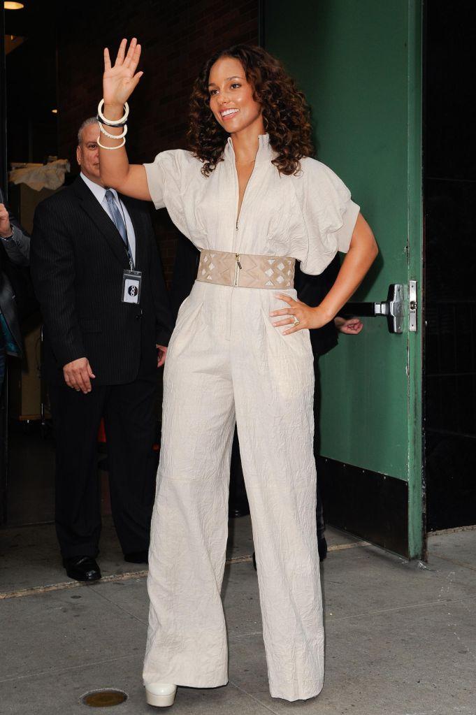 Celebrity Sightings In New York City - September 26, 2011