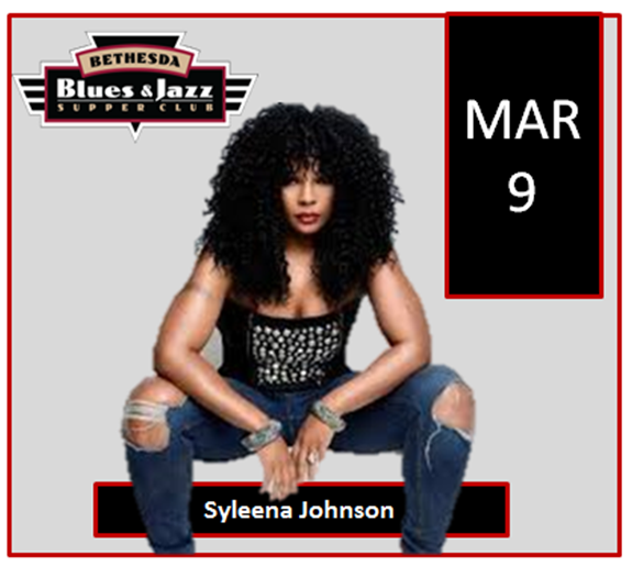 Syleena Johnson at Bethesda Supper Club