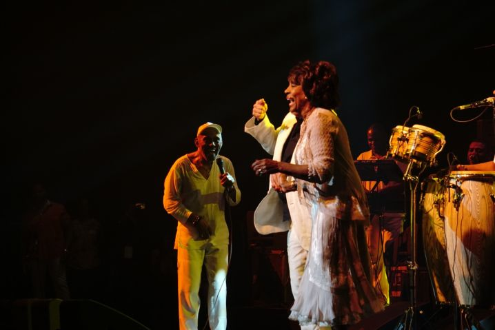 Maze Featuring Frankie Beverly, Tom Joyner & Maxine Waters