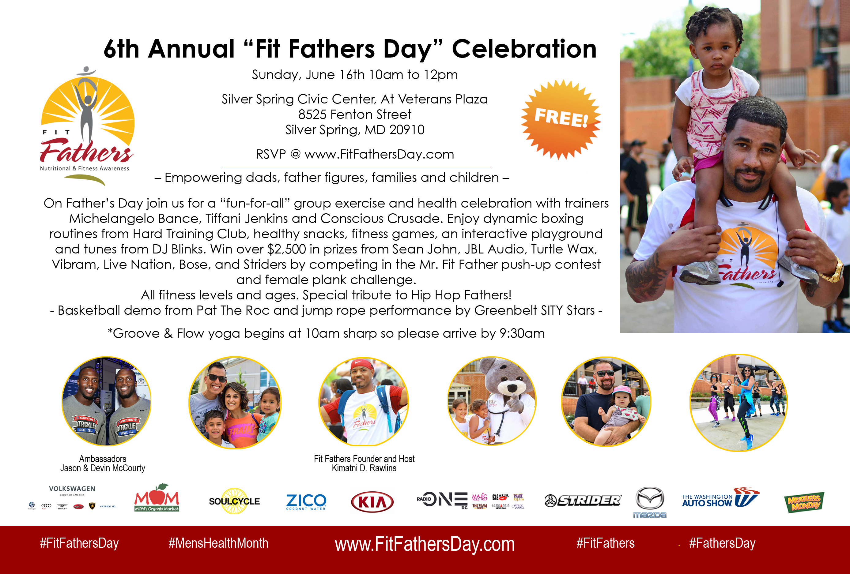 6th Annual Fit Fathers Graphic