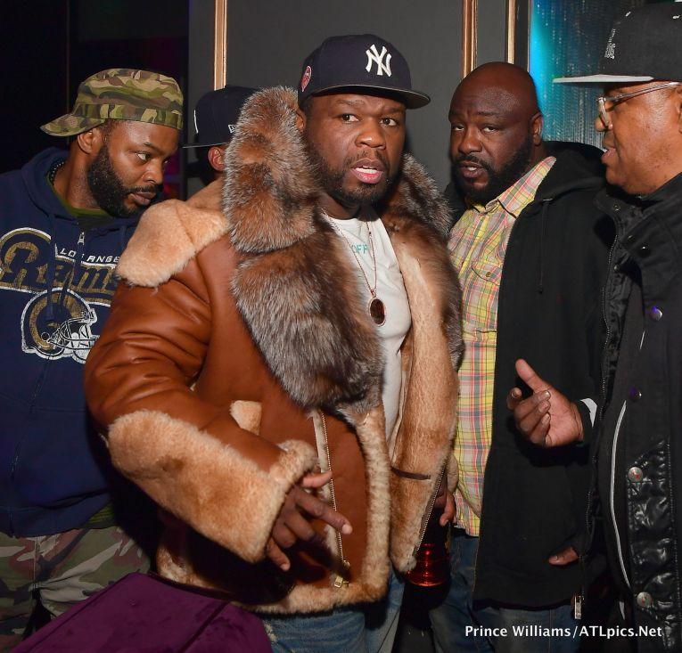 50 Cent at Oak Atlanta