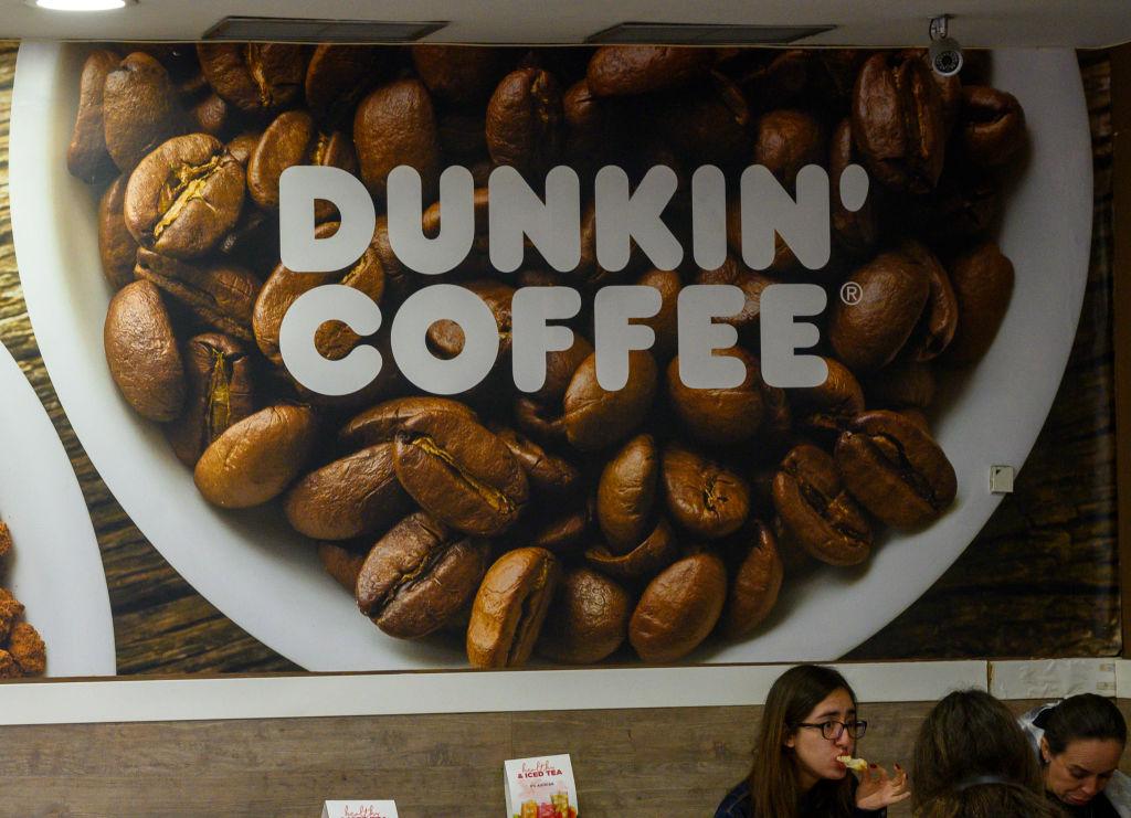 Dunkin' Coffee in Puerta del Sol, Madrid