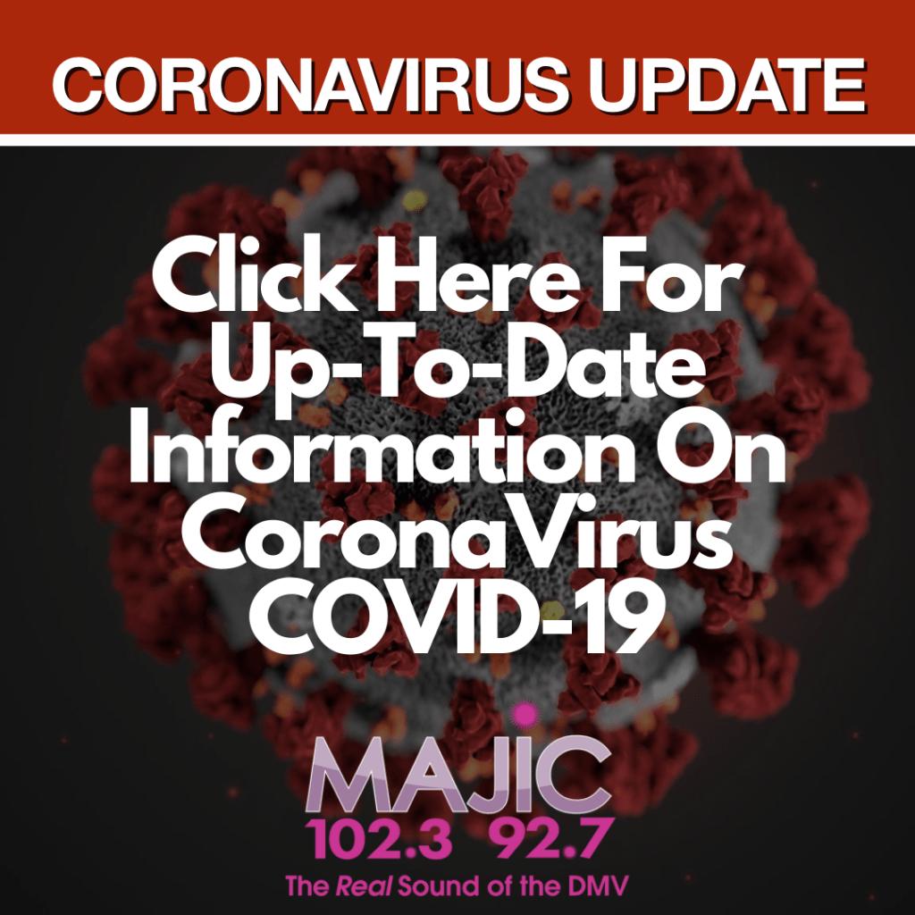 CoronaVirus Update Majic