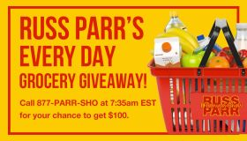 Russ Parr Is Giving Away $100 Daily! Graphic